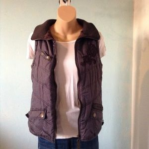 Brown Maurices vest